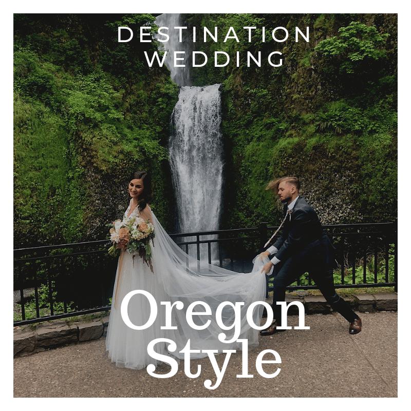 A Destination Wedding in Portland…