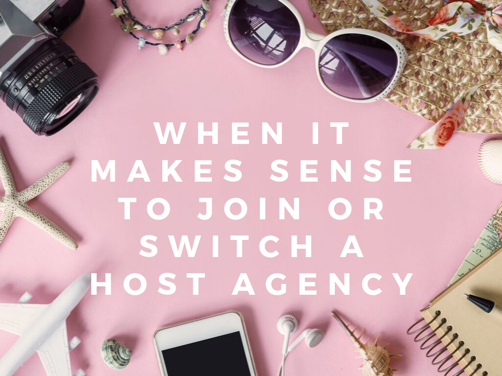 When it makes sense to join or change a Host Agency