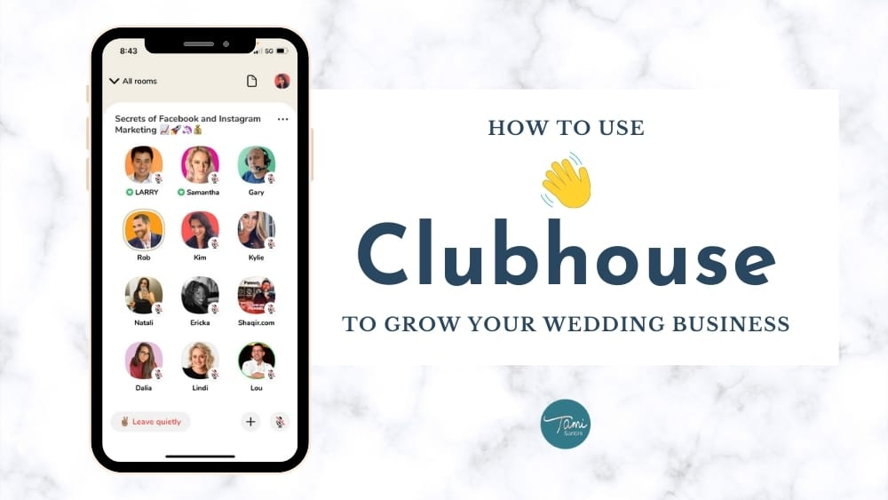 clubhouse-wedding-business