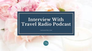interview with travel radio podcast