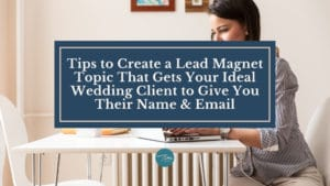 lead magnet topic