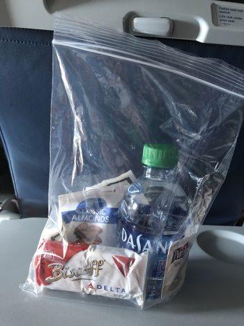 Flight snack pack